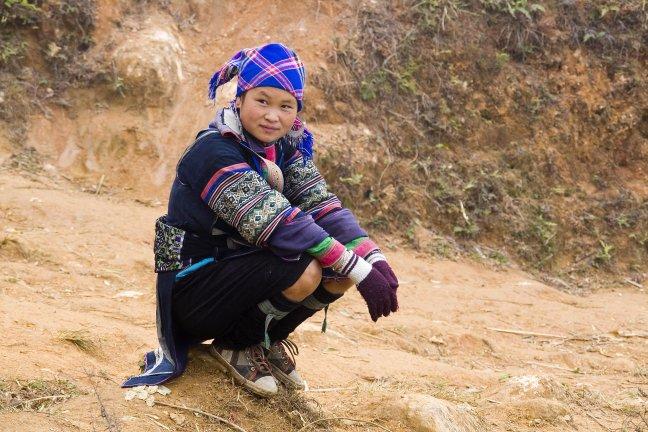 Meisje uit Sapa