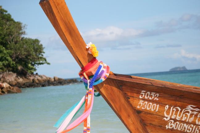 Kleurrijke Longtail Ko Phi Phi