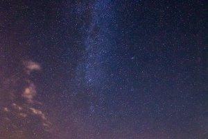 Melkweg boven Toscane