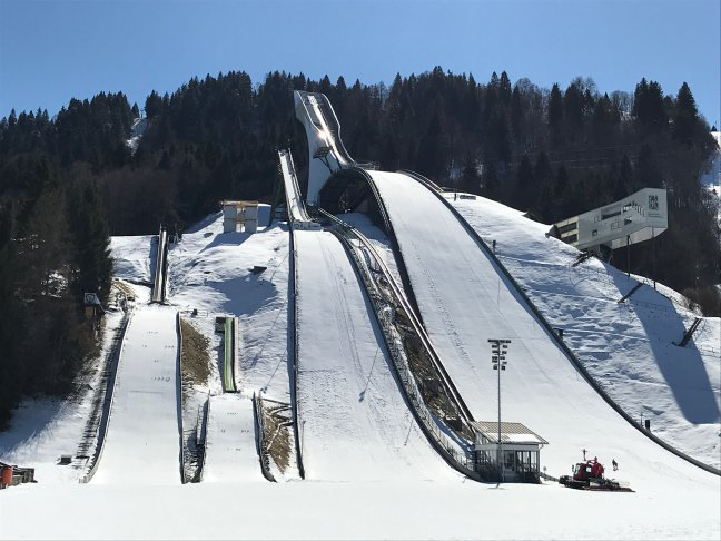 Schansspringen in Garmisch