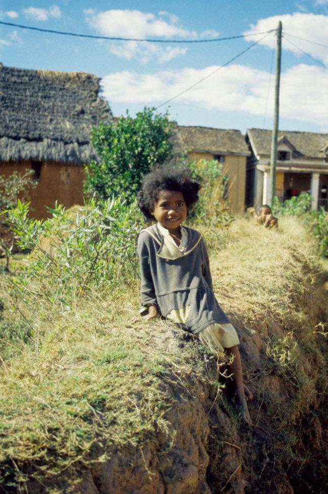 Meisje in Ambositra