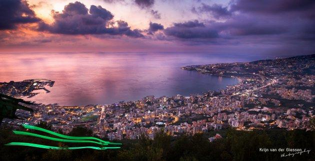 Beirut uit de hoogte