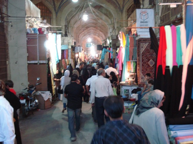 Bazar, Teheran