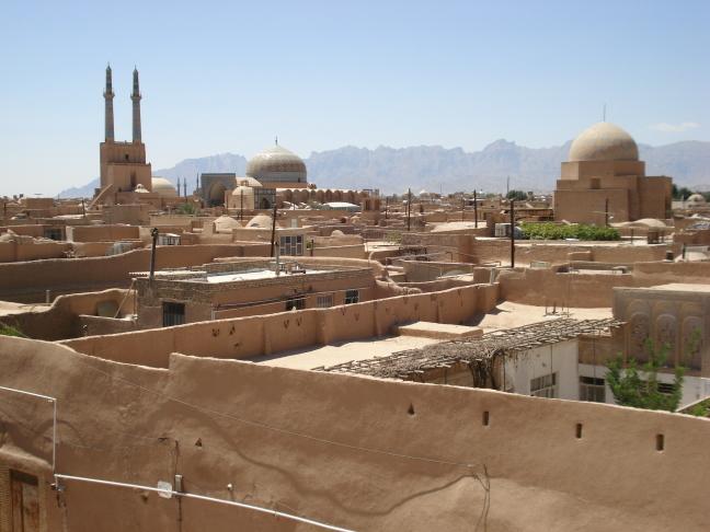 Uitzicht, Yazd