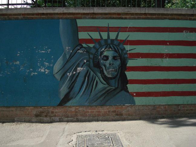 Muurschildering, Teheran