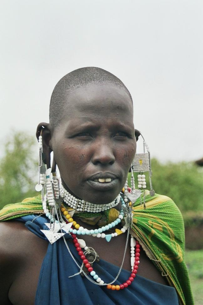 Masaï vrouw