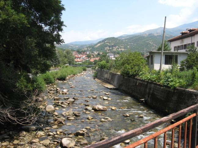 Onderweg naar het Rila klooster