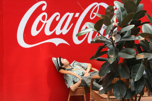 Teveel Cola gedronken?