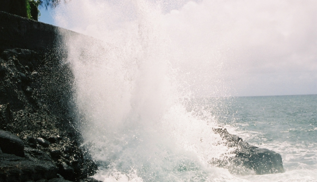 Power of the waves