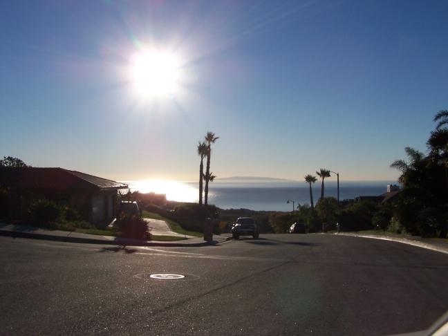 Malibu, zicht op Santa Catalina Island