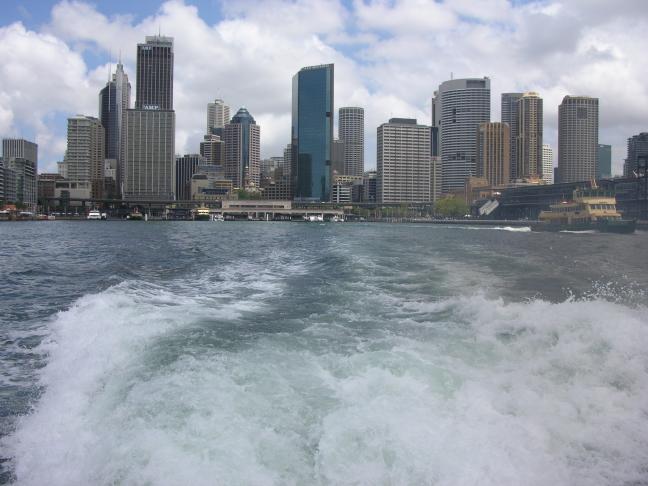 Openbaar (water)vervoer in Sydney
