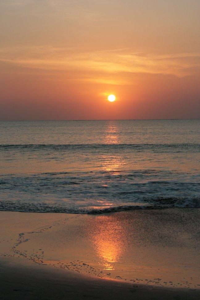 Zonsondergang in Bali