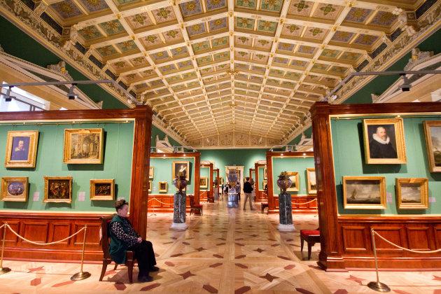 Hollandse meesters in Hermitage St.Petersburg