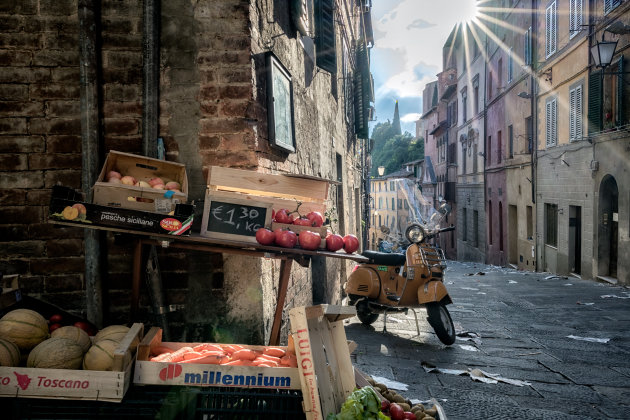 MovieSet in Siena
