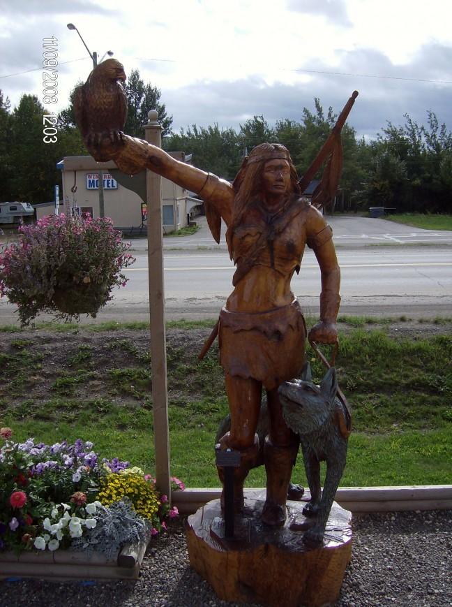 Kettingzaag sculpturen