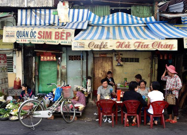 Het leven in de Chinese wijk