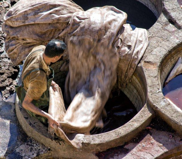 Leerlooierij van Chouara, Fez