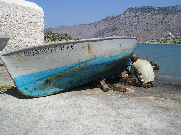 Het leven op het Griekse eiland Simi