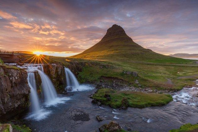 Kirkjufellsfoss IJsland