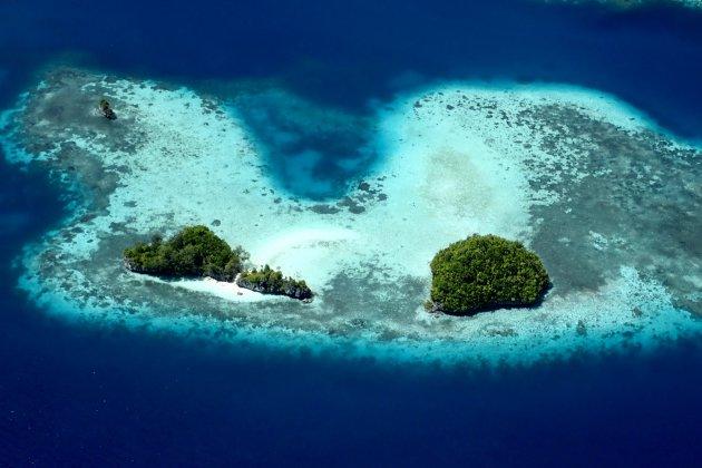 Palau rots eilandjes
