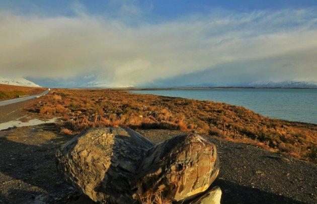 Route naar Perito Moreno