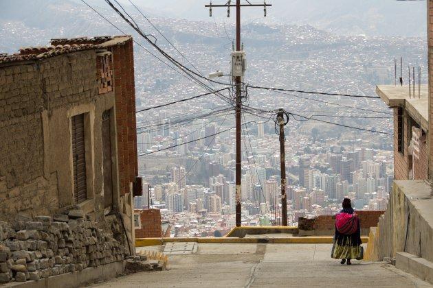 Uitzicht over La Paz