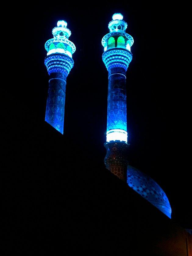 Imamzadeh Jafar moskee Yazd