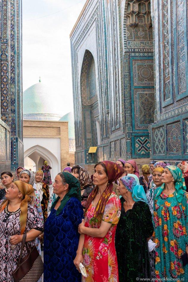 Kleurenpracht in Samarkand