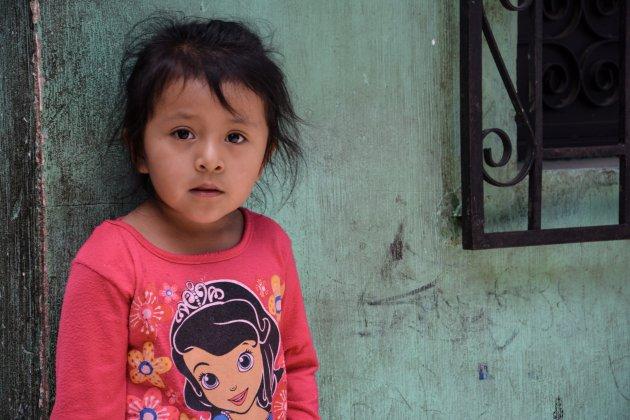 Een jong kind in Guatemala2