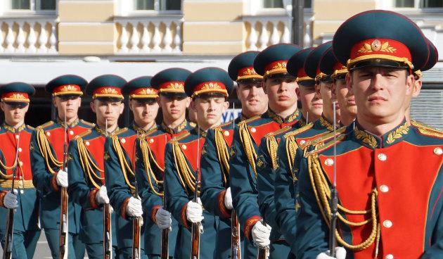 Vier bevrijdingsdag in Sint Petersburg