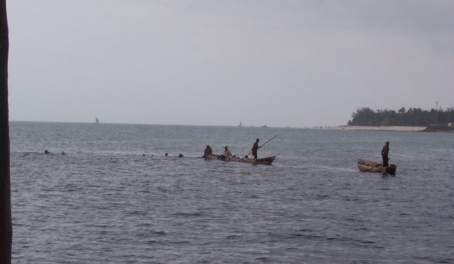 lokale vissers mombassa