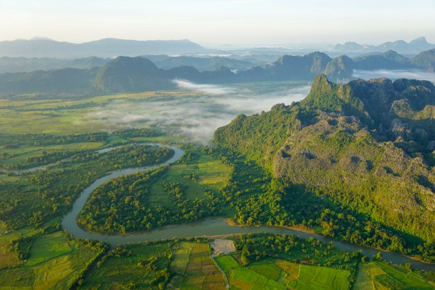 Laos van boven