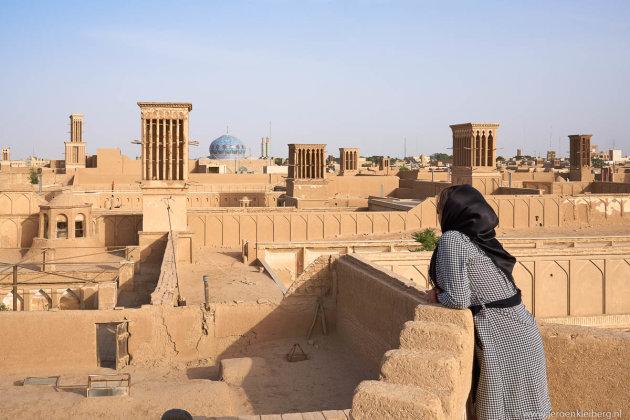 De airco's van Yazd