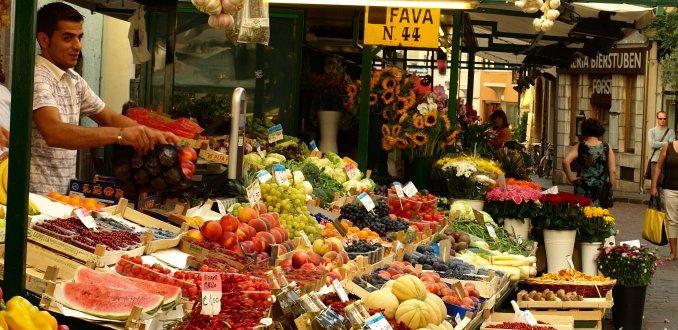 markt in Bolzano