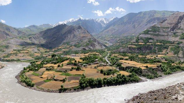 Uitzicht over Afghanistan