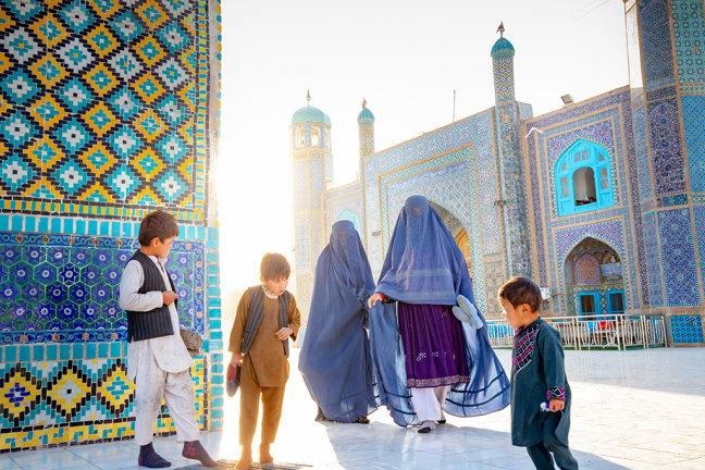 Een ochtend bij de Moskee