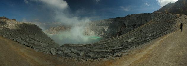 Panorama Kawah IJen