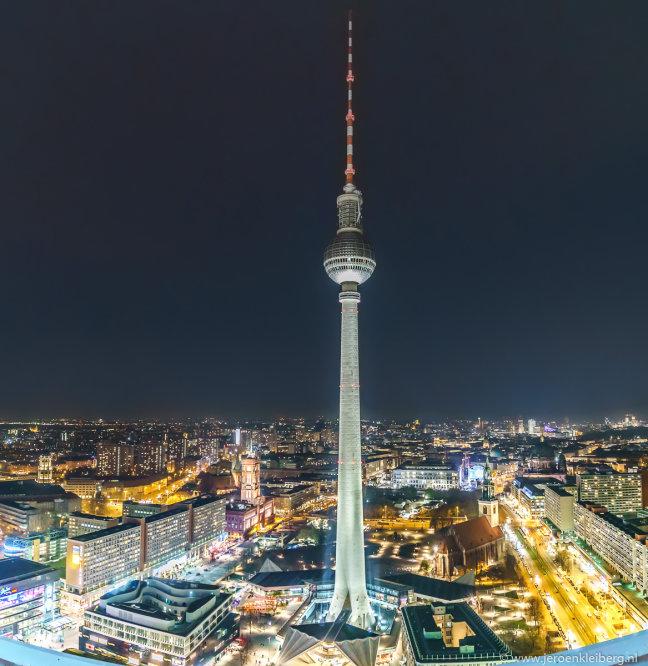 Panorama over Berlijn