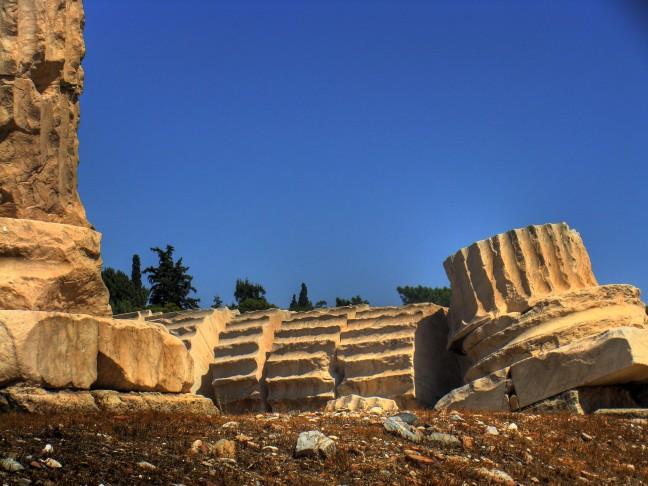 Zuilen Zeustempel