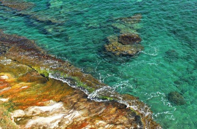 De kust bij Castelsardo
