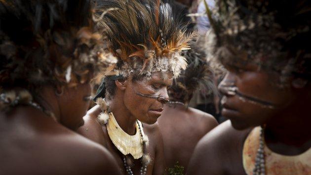Jiwaka festival Papua Nieuw Guinea
