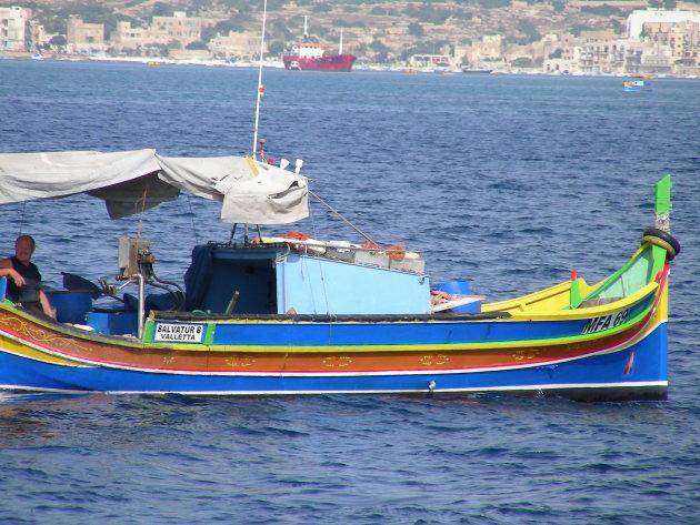 traditionele vissersbootje
