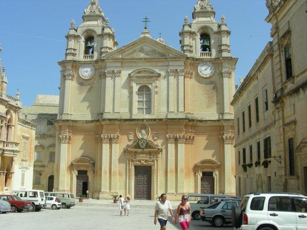 Katedraal in medina