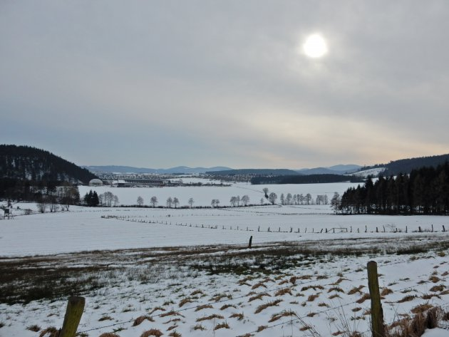 Winterlandschap in Medebach