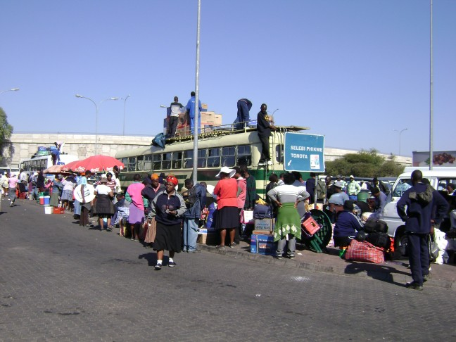 Busstation Francistown