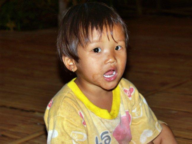Glimlach van een kind