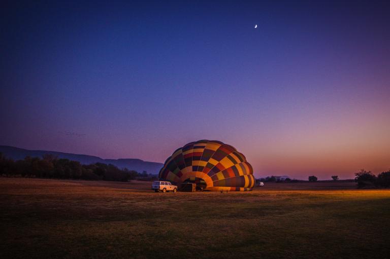 Hoofdfoto bij reisverhaal 'Safari vanuit de lucht in Zuid-Afrika'