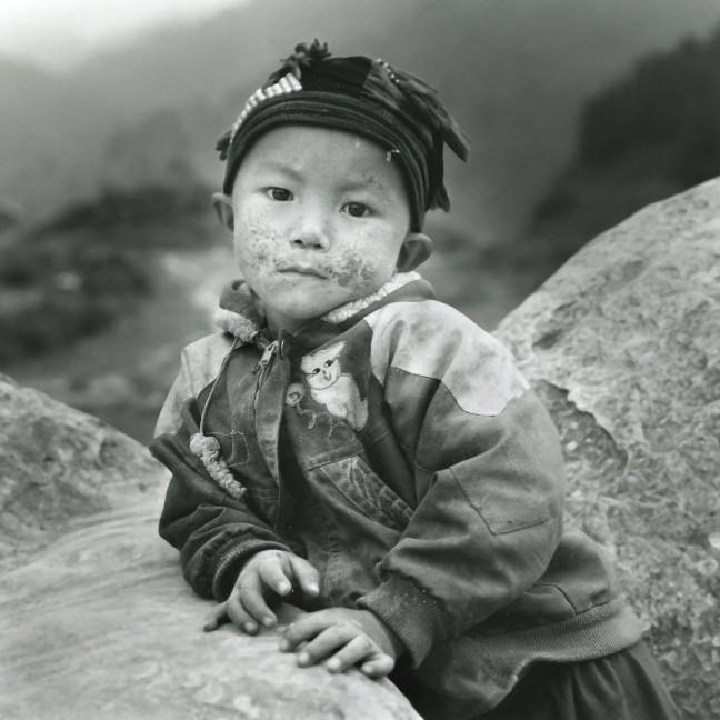 Bergstam in Noord-Vietnam