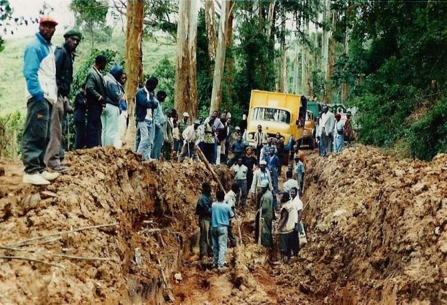 Highway in Congo