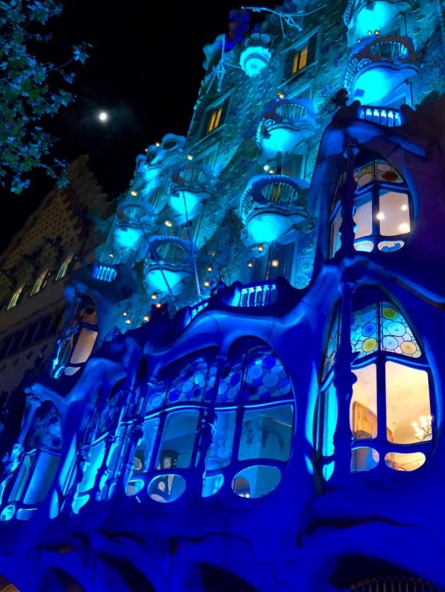 Casa Batlló by night